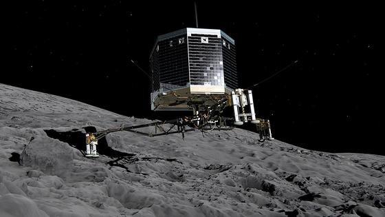 Zunächst zitterten die Wissenschaftler: Philaes Harpunen versagten, das Landemodul hob vom eigentlichen Landeort wieder ab und schwebte über der Kometenoberfläche. Es konnte sich aber einen neuen Landeplatz suchen und scheint jetzt einigermaßen stabil zu stehen.