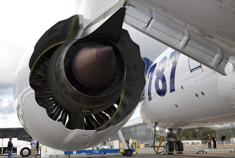 Das Rolls-Royce Triebwerk Trent 1000 kommt in der Boeing 787 Dreamliner zum Einsatz.