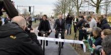 Weltweit erster stromerzeugender Radweg eröffnet
