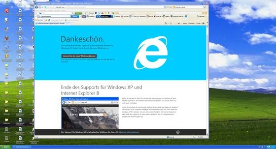 Der Internet Explorer hat nicht nur unter dem alten Betriebssystem Windows XP erhebliche Sicherheitsprobleme. Auch neueste Versionen bieten Einfallstore für Hacker und Schadsoftware.