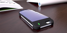 Weltweit erste Solar-Schutzhülle lädt Smartphone auf
