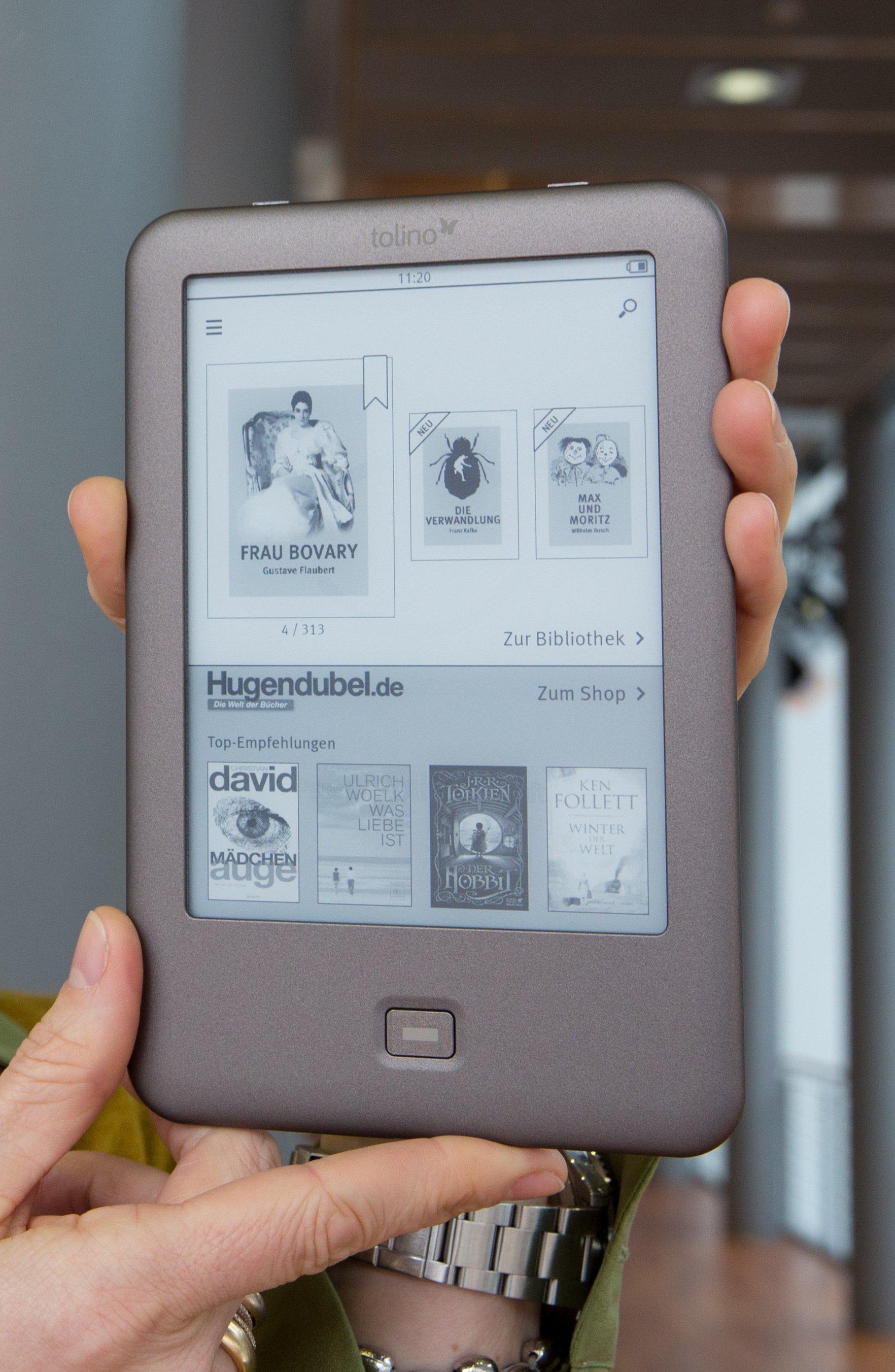 Der E-Reader Tolino wurde im März 2013 vorgestellt.