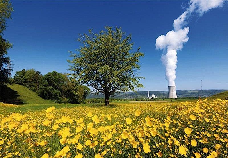 Wenn sich das Parlament für die Verlängerung der Betriebsdauer entscheidet, würde das Kernkraftwerk Leibstadt als letztes erst 2064 vom Netz gehen.