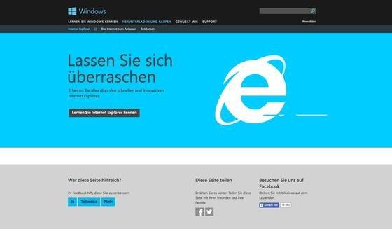 Jetzt warnt sogar die US-Regierung davor, mit dem Internet Explorer von Microsoft im Web zu surfen.