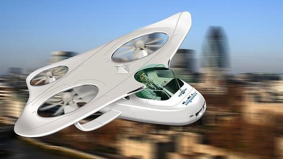 Sieht spannend aus, bleibt aber wohl noch länger ein Traum: persönliche Helikopter, mit denen Bürger ganz einfach in der Gegend rumfliegen.