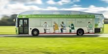 Der Poo-Bus dreht seine ersten Runden