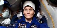 ESA-Astronautin Samantha Cristoforetti auf der ISS eingezogen