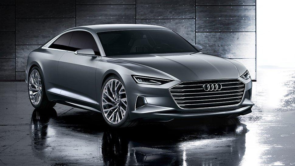 Audi-Luxuscoupé Prologue: Das Auto könnte als A9 auf den Markt kommen und gegen den MercedesCL und 6er-BMW antreten.