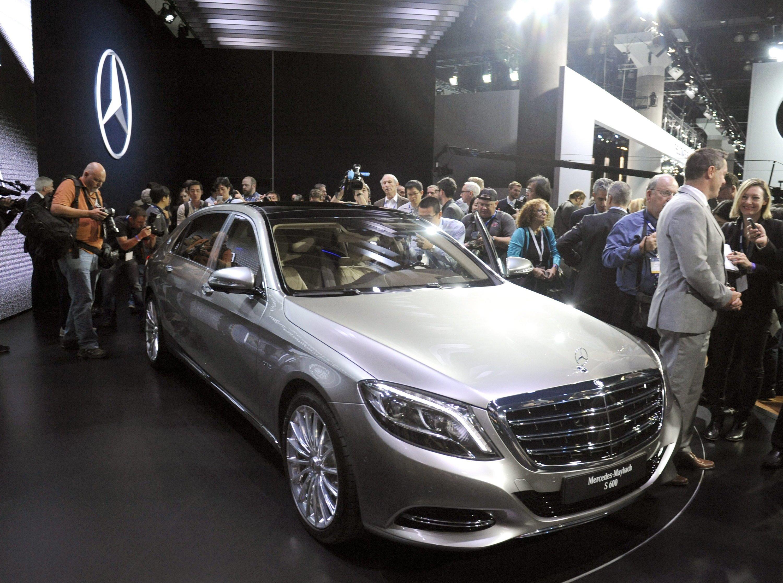 Kommt 2015 auf den Markt: Mercedes Maybach S 600 LA Auto Show 2014 in Los Angeles.