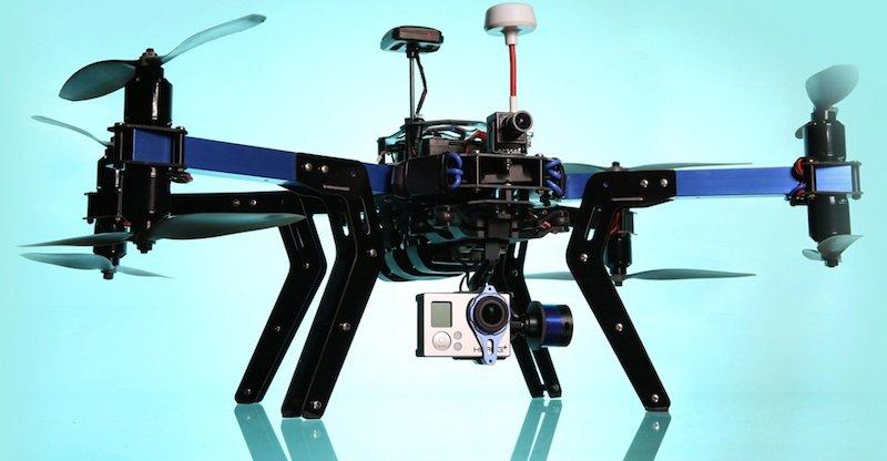 3D Robotics rüstet seine Drohnen mit Kameras von GoPro aus.