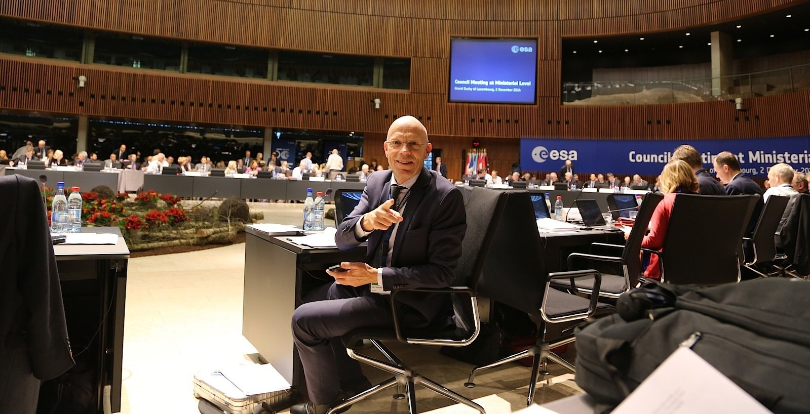 Rolf Densing ist im Deutschen Luft- und Raumfahrtzentrum für die Programme der Europäischen Weltraumorganisation ESA zuständig.