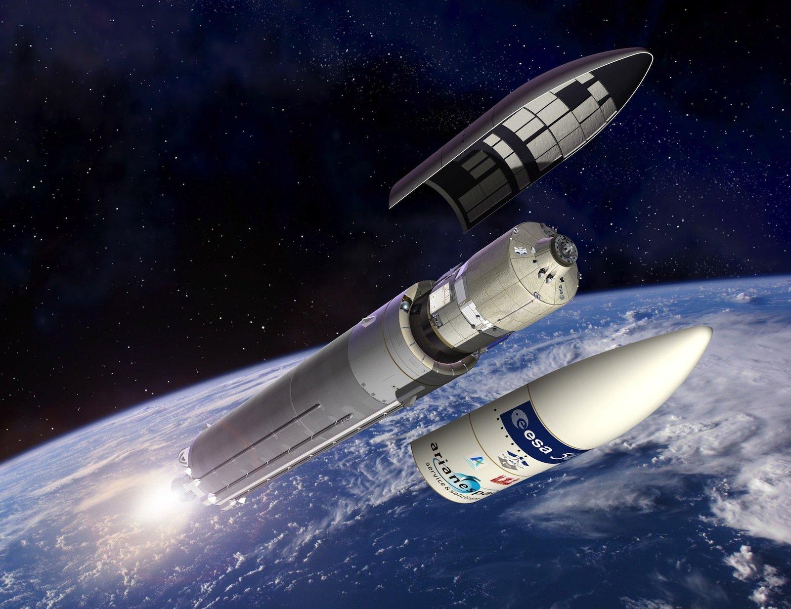 """""""Die jetzige Ariane 5 Rakete ist die wettbewerbsfähigste Rakete am kommerziellen Startmarkt."""""""