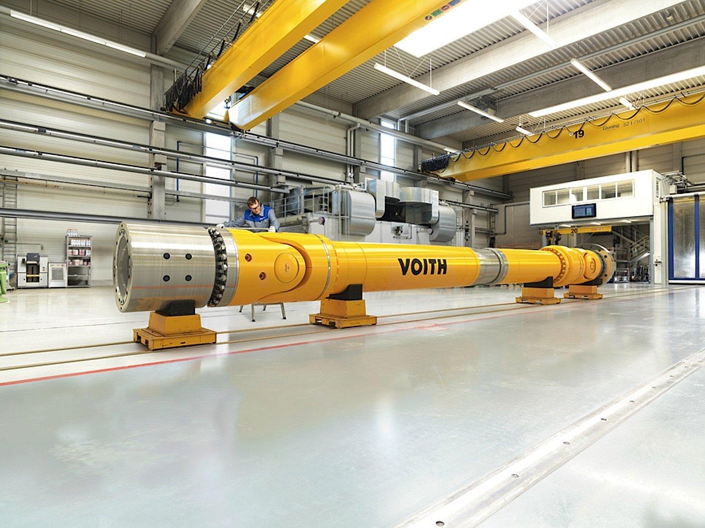 Voith baut unter anderem riesige Gelenkwellen für Schiffe. Als neuer Großaktionär marschiert das Unternehmen aus Heidenheim jetzt Richtung Industrie 4.0.