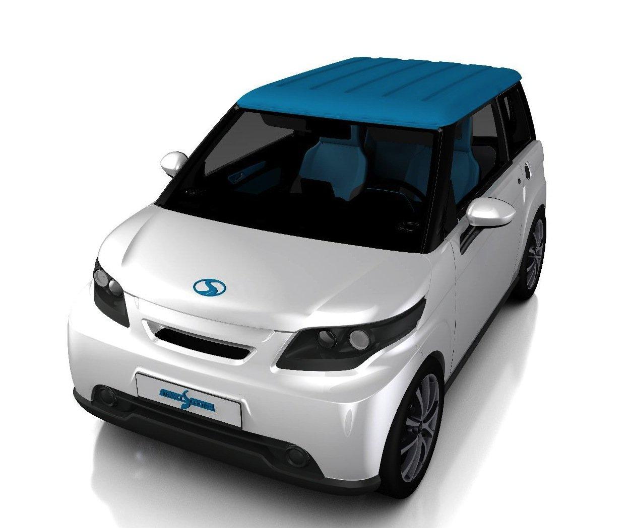 Das kleine E-Familienauto Compact gibt es bislang nur als Prototyp.