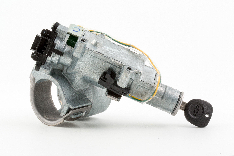 Zündschloss aus einem GM-Modell: Eine zu schwach dimensionierte Feder war der Grund, warum die Schlösser von GM-Modellen während der Fahrt plötzlich in die Aus-Stellung zurückschnappten und den Motor ausschalteten.