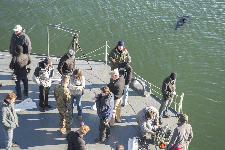 Die US-Marine hat Silent Nemo jetzt auf einem Testgelände in Virgina vorgestellt. Im kommenden Jahr soll der Roboterfisch einsatzbereit sein.