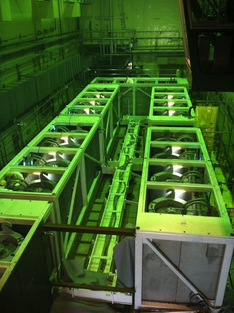 Diese Wasseraufbereitungsanlage von Kurion ist bereits seit 2011 im Einsatz.