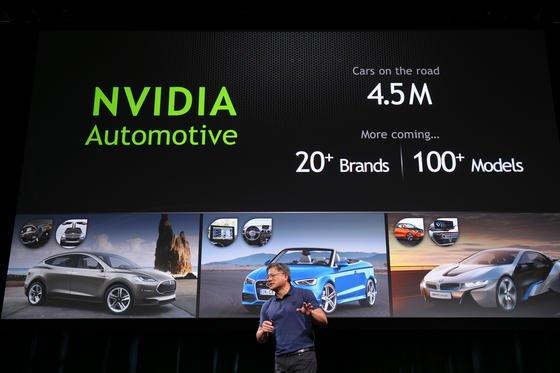 Nvidia-CEO Jen-Hsun Huang hat auf der CES in Las Vegas einen neuen Chip vorgestellt, der speziell für den Einsatz im Auto optimiert wurde. Nvidia ist Teil der neuen Allianz um den Google-Konzern und den Autoherstellern Audi, GM, Honda und Hyundai.
