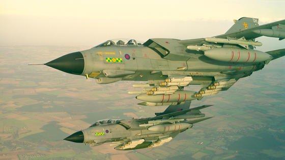 Tornados der Royal Air Force: Die britische Luftwaffe will künftig Ersatzteile in 3-D-Druckern erzeugen, um schneller wieder einsatzfähig zu sein.
