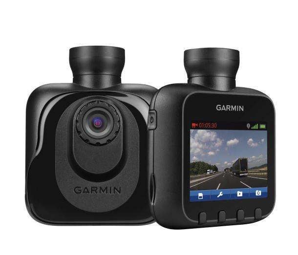 Die neue Dashcam von Garmin gibt es mit und ohne GPS-Empfänger. Die Kamera zeichnet das Verkehrsaufkommen auf und liefert im Fall eines Unfalls wertvolle Daten.