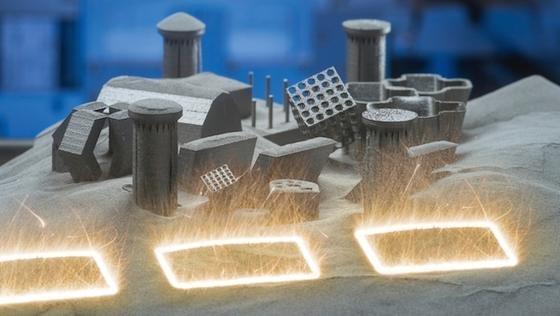 Siemens nutzt das 3D-Druckverfahren, um Formen herzustellen, die mit anderen Produktionsverfahren unmöglich sind.