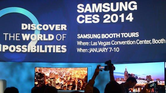 Samsung präsentiert auf der CES unter anderem große Galaxy-Tablets mit höchster Auflösung.