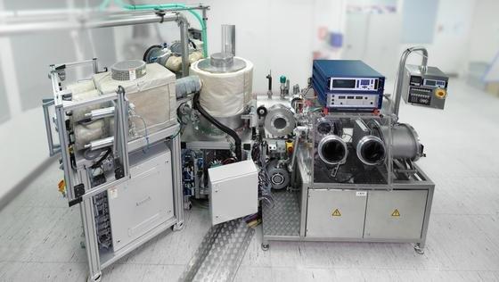 Der OVPD-Prototyp, mit dem sich organische Leuchtdioden herstellen lassen. Dieser wird in die Demonstrationsanlage integriert.