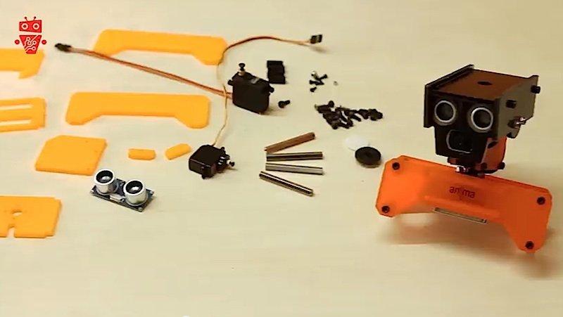 Die Idee für das PiKit-Baukastensystem stammt vom slowakischen Unternehmen Anima Technika.