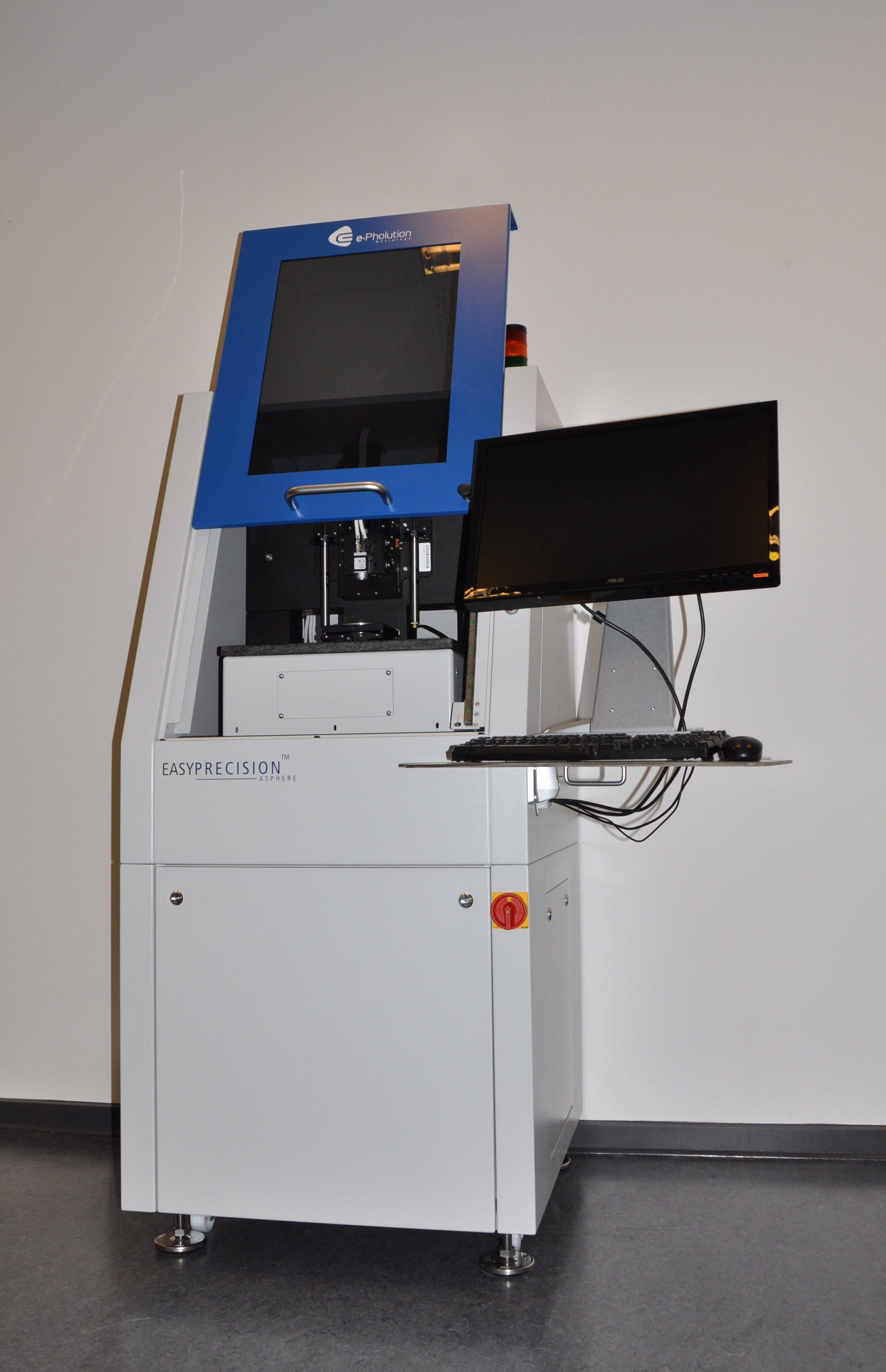 EasyPrecision arbeitet auf einige Millionstel Millimeter genau.