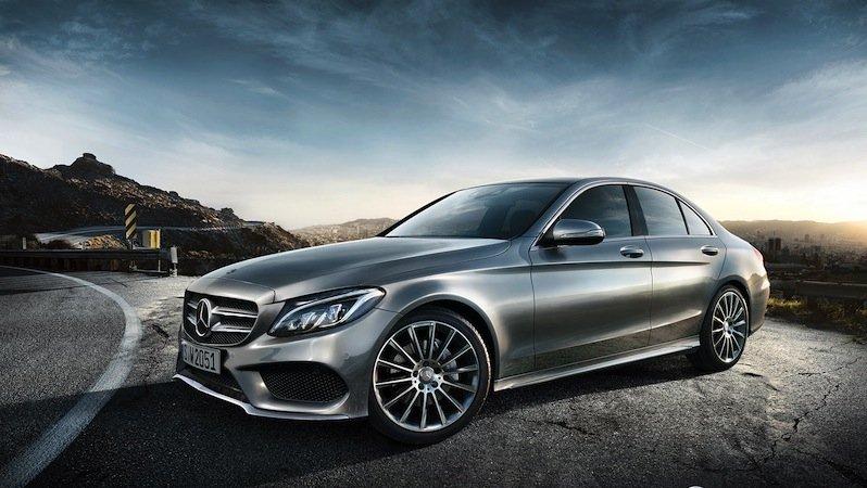Die neue C-Klasse von Mercedes wird künftig auch in den USA produziert. Mit dem Auto will Mercedes seinen Absatz in den USA weiter steigern.