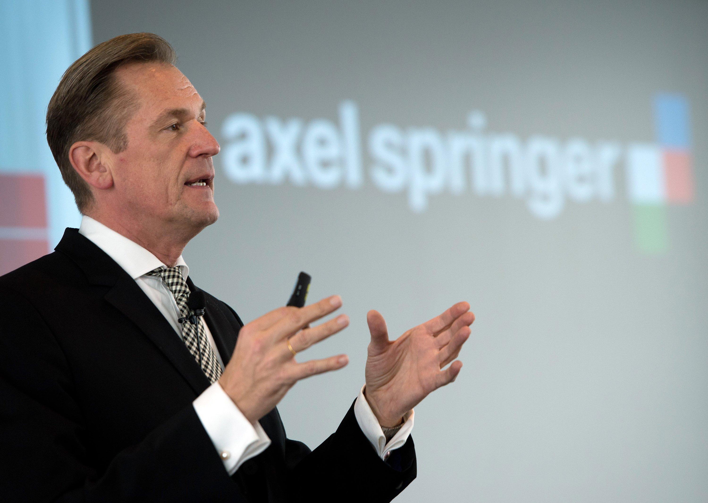 Mathias Döpfner:Vorstandsvorsitzender der Axel Springer SE (Societas Europea).
