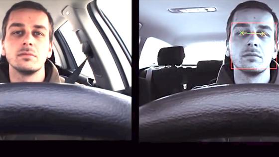 Der Micro-Sleep-Alerter der Fraunhofer Forscher analysiert kontinuierlich Pupillenkontur und Augenbewegungen des Fahrers. Er schlägt immer dann Alarm, wenn der Fahrer seine Augen länger als eine halbe Sekunde schließt.