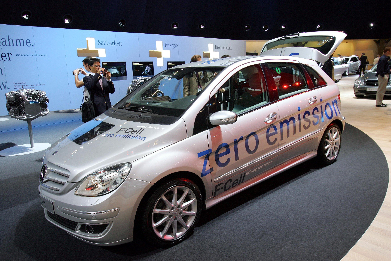 Die B-Klasse F-Cell von Mercedes-Benz: Der Hersteller will das Modell 2017auf den Markt bringen.