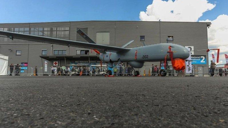 ILA-Gastland Türkei zeigt auf der ILA die Flugdrohne Anka.