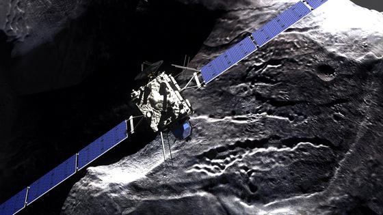 Mitte November 2014 soll der Lander Philae auf dem Zielkometen 67P/Tschurjumow-Gerassimenko landen. An Bord der Sonde sind elf wissenschaftliche Instrumente, mit denen urzeitliche Materie erforscht werden soll. Wissenschaftler erhoffen sich Hinweise auf physikalische und chemische Prozesse der Planetenentstehung, die vor 4,6 Milliarden begonnen hat.