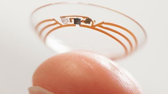 Die elektronische Kontaktlinse von Google soll Blutzucker-Werte von Diabetikern messen und die Träger bei Schwankungen warnen.