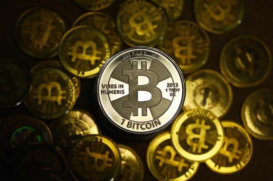 Es gibt sie nur zur Veranschaulichung: Bitcoins sind eine rein virtuelle Währung.