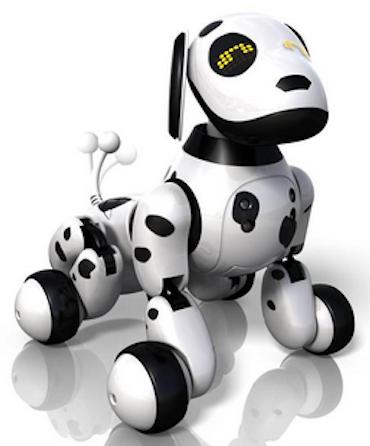 Elektronischer Dalmatiner Zoomer.