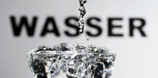 Chinesisches Spezialpapier lässt sich mit Wasser bedrucken