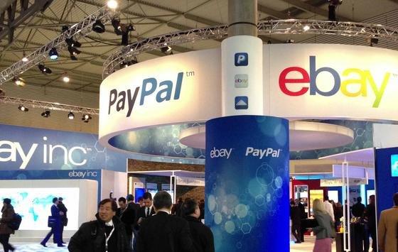 Messestand von Ebay und Paypal: Das Aktionshaus wurde schon Ende Februar gehackt. Erbeutet wurden 145 Millionen Datensätze, wie das Unternehmen erst jetzt, zweieinhalb Monate später, mitteilt. Lange Zeit blieb der Angriff unbemerkt.