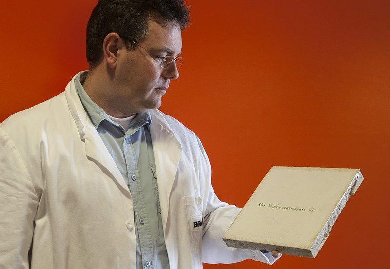 Feuchtespeicherputz soll vor Atemwegsinfektionen schützen