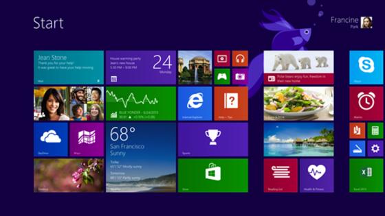 Die Bedienung von Windows 8 über Kacheln stößt bei vielen Usern auf Widerwillen. Das bekommt Microsoft mit einem niedrigen Marktanteil zu spüren. Das Betriebssystem erreichte bislang lediglich einen Anteil von 6,63 Prozent, das Update auf 8.1 sogar nur 3,95 Prozent.