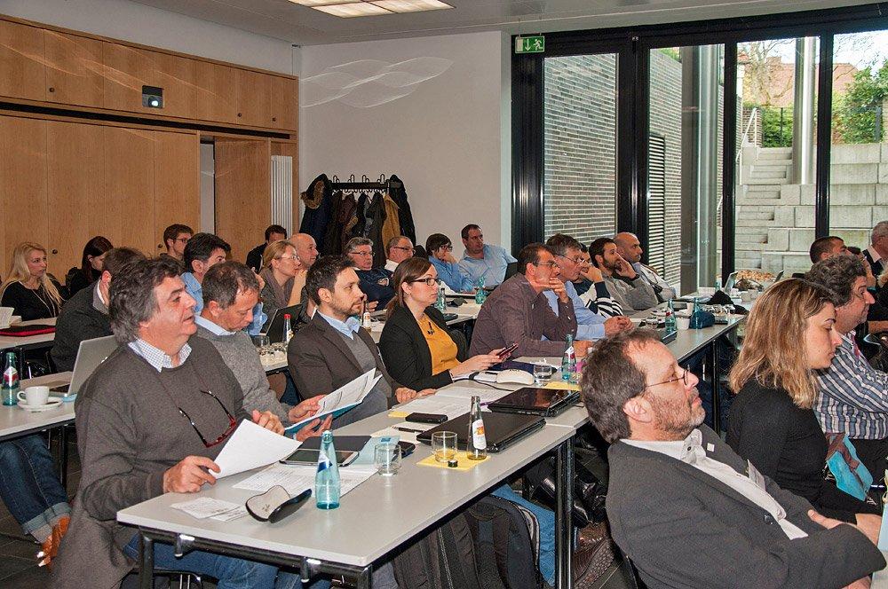 Kick-off-Meeting zu MARSOL: Das Verbundprojekt wird an der TU Darmstadt koordiniert.