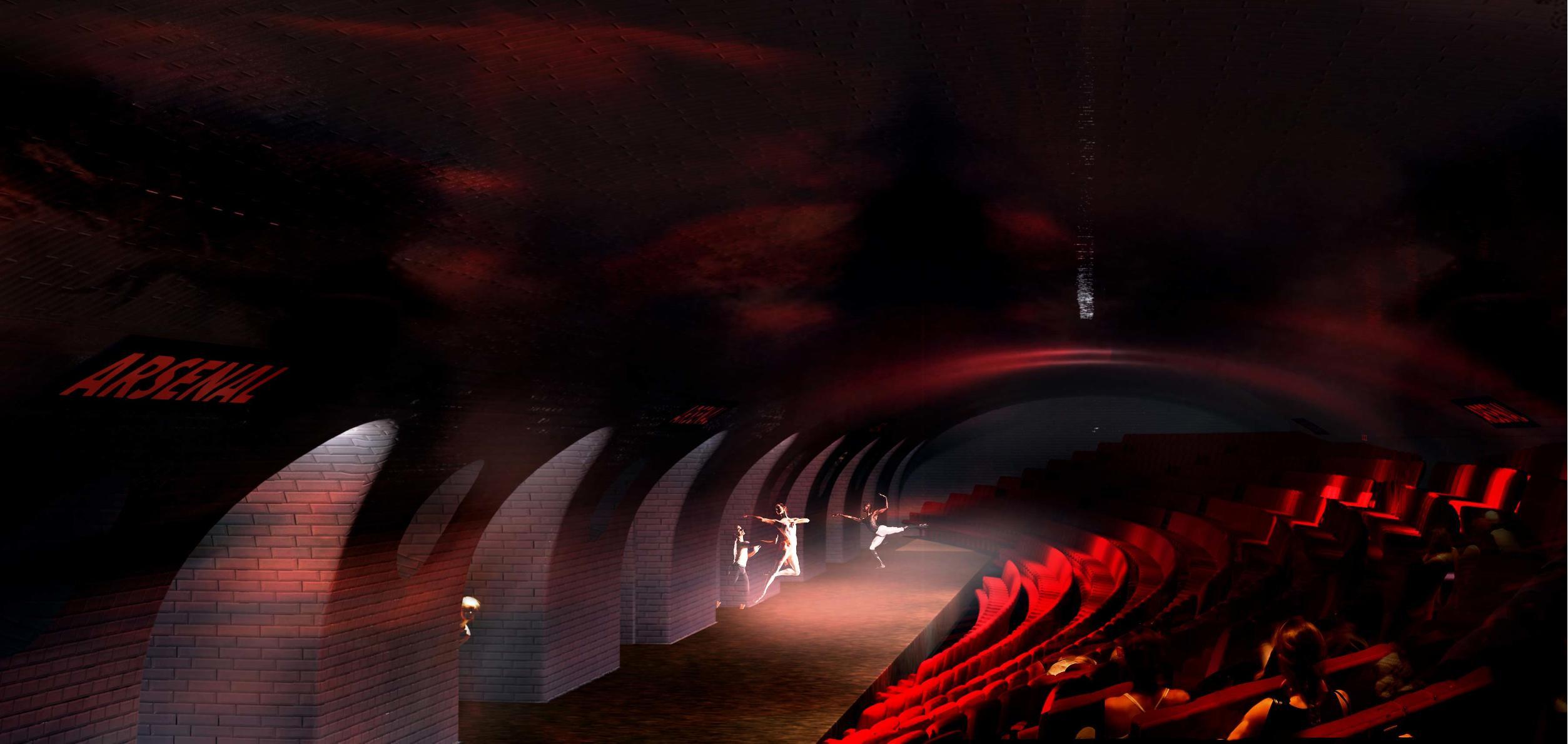 Denkbar ist auch, die vergessenen Bahnhöfe als Ort für Theatervorführungen umzugestalten.