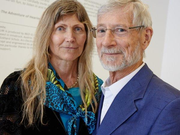 Das Forscherehepaar Ingeborg und Erwin Hochmair.