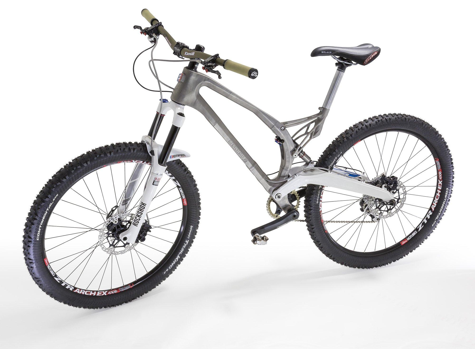 Das MTB von Empire Bikes aus dem 3D-Drucker: Der Rahmen ist ein Drittel leichter als ein herkömmlicher Fahrradrahmen.