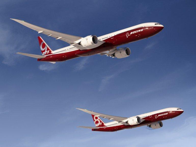 Mit der Boeing 777X hat der US-Konzern ein besonders sparsames Flugzeug vorgestellt.
