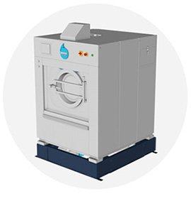 Waschmaschine für den Hausgebrauch.