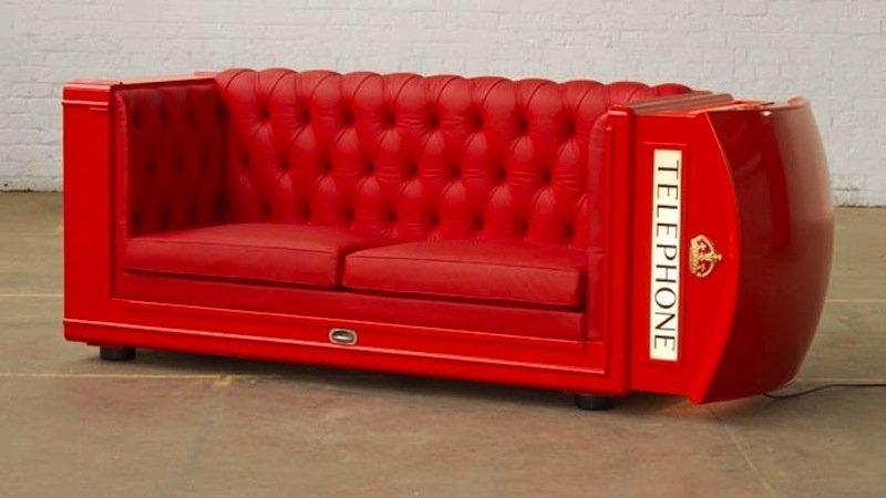 Shine lässt gerne traditionelle Motive in sein Design einfließen. Das Sofa