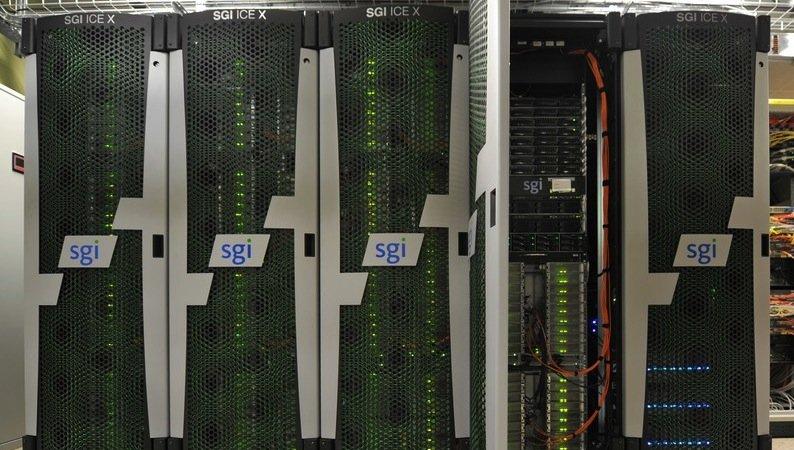 Im Rechenzentrum der ZAMG wird für EODC Water die Erstprozessierung der Daten durchgeführt.
